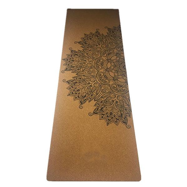 China Manufacturer Custom Printed Cork Yoga Mat