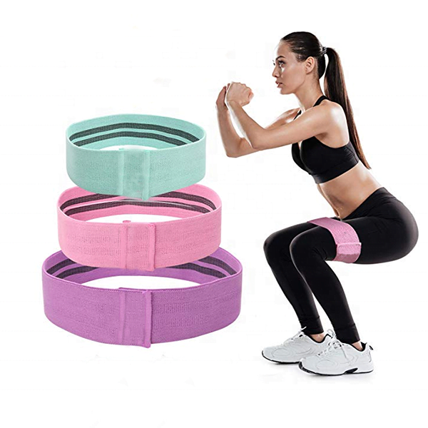 Training Fitness Bands Resistance Cotton Resistance Loop Exercise Bands