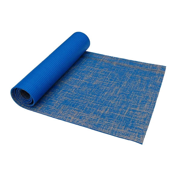 Custom Printing Natural Jute + Eco PVC Yoga Mat