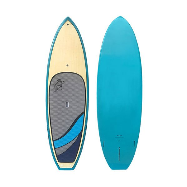 Bamboo Sup Paddle Board Bullet Shape Surf Board