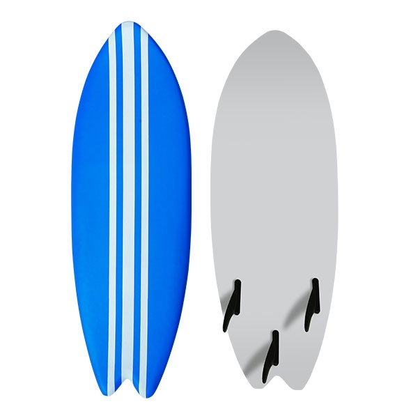 Customized Colorful Painting Body Surfing Board Soft top Surfboard