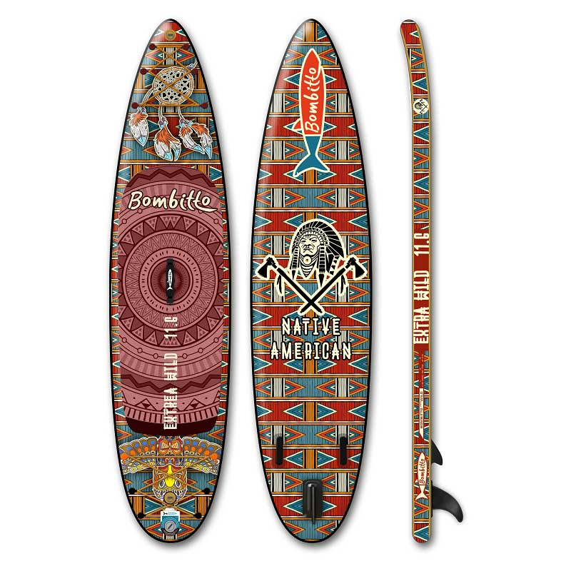 10FT Inflatable SUP Paddle Boards Soft Top Stand Up Board