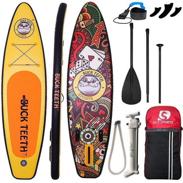 All Round ISUP Longboard Inflatable Stand Up Paddleboard