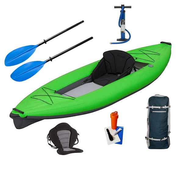 Double Seats Drop Stitch Inflatable Kayak