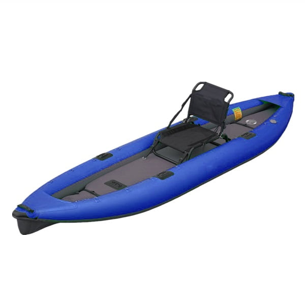 Durable PVC Canoe Fishing Boat Inflatable Paddle Kayak 2 Person