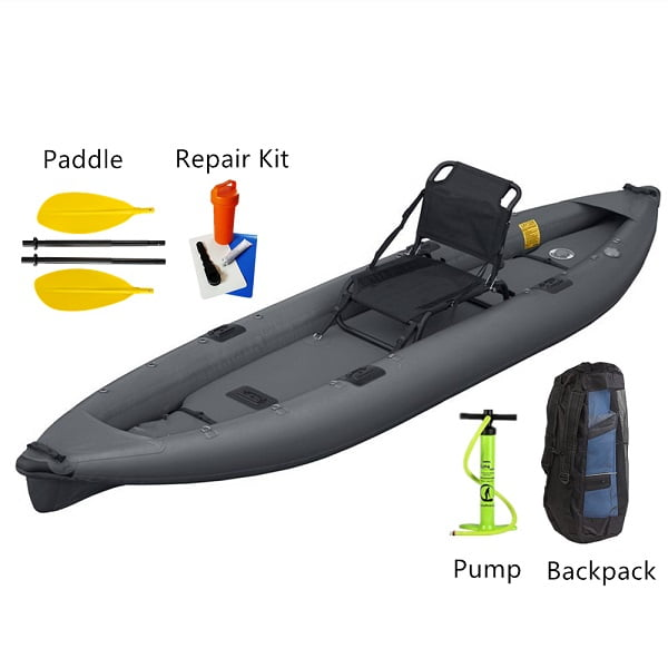 Wholesale Factory New Design Paddles Durable PVC Inflatable Kayak