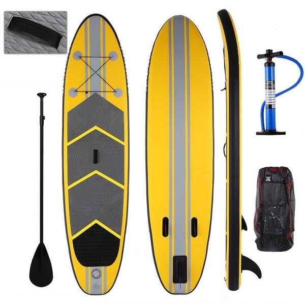 Wholesale Inflatable Paddle SurfBoard With Fins Leash