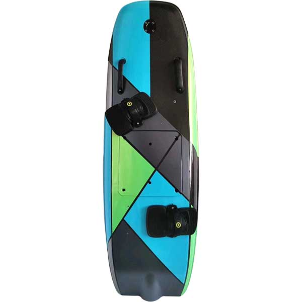 customized electric surfboard
